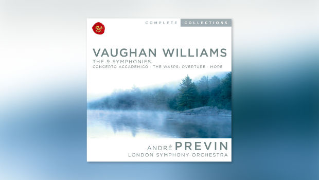 Vaughan Williams: Sinfonien 1-9 (Previn)