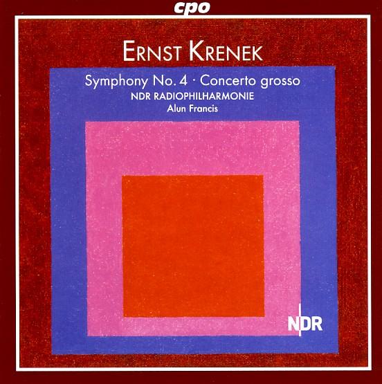 05 cpo; Krenek, Sinf. 4, Concerto Grosso