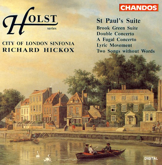 07 CHANDOS; Holst, St. Paul's Suite