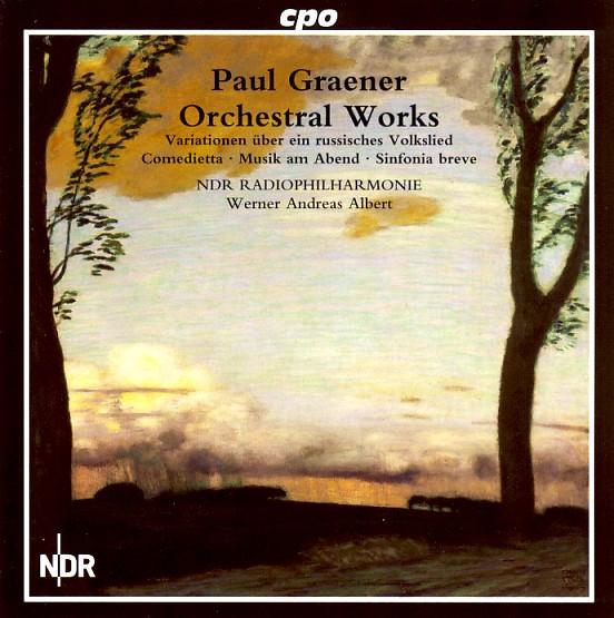 09 cpo; Graener, Orchestral Works