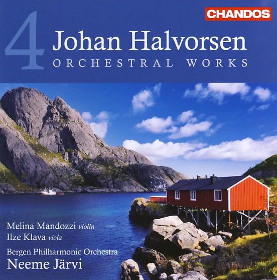 10 CHANDOS-Halvorsen, Vol. 4
