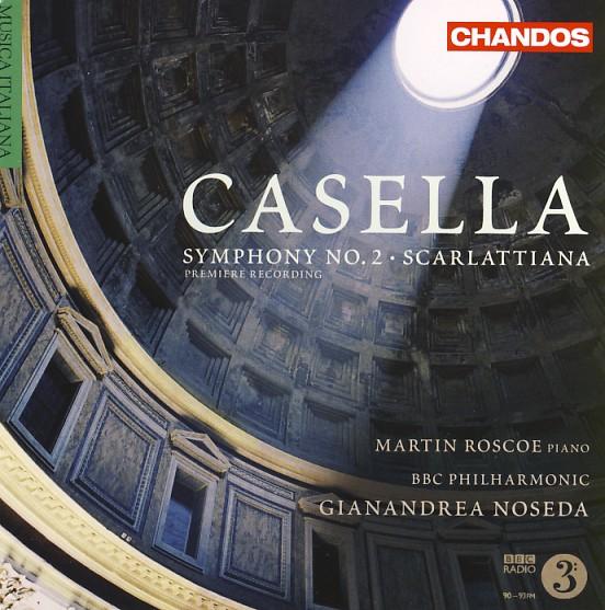 11 CHANDOS-Casella, Vol. 1, Sinfonie Nr. 2