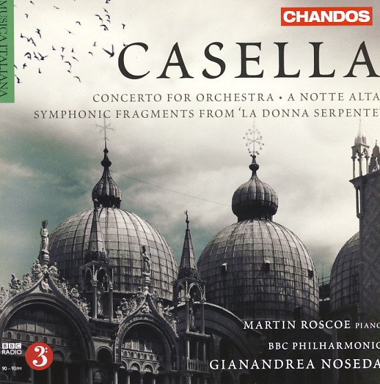 12 CHANDOS-Casella, Vol. 2, Concerto for Orchestra