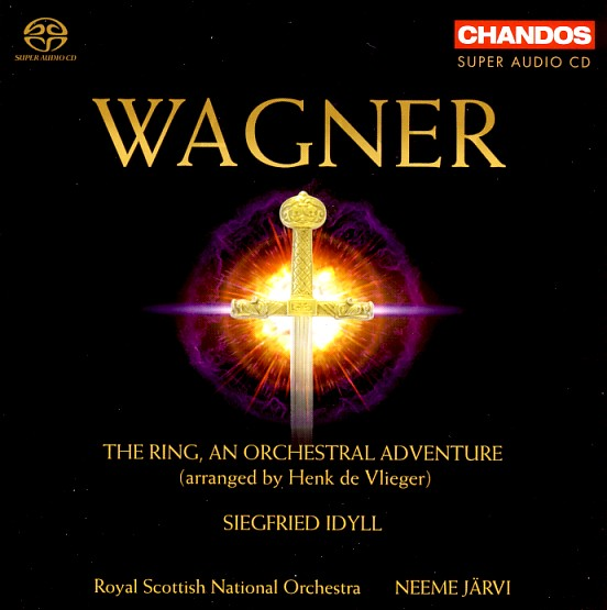13 CHANDOS; Wagner-Järvi, The Ring