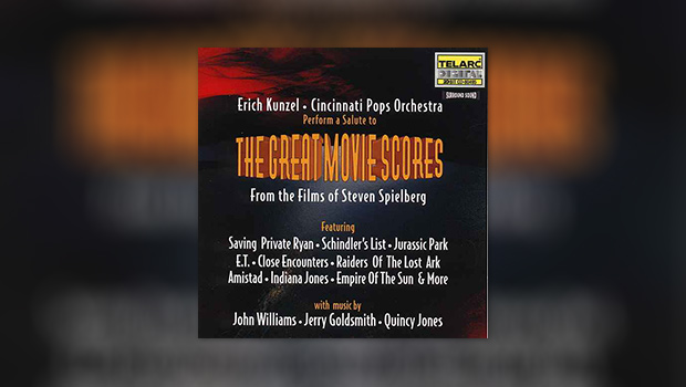 The Great Movie Scores From The Films of Steven Spielberg