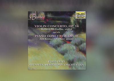 Barber – Violin & Piano Concert