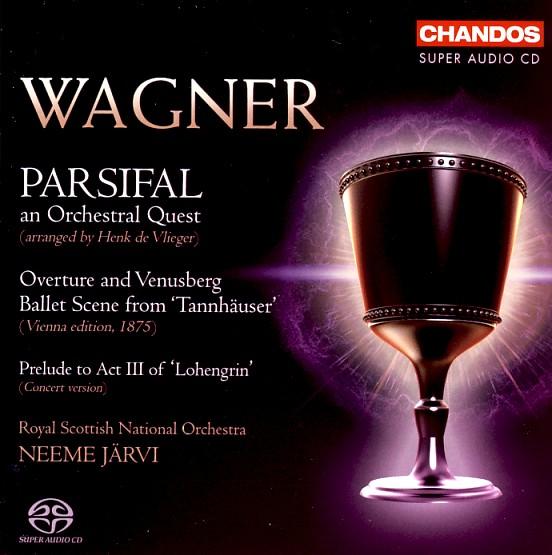 14 CHANDOS; Wagner-Järvi, Parsifal