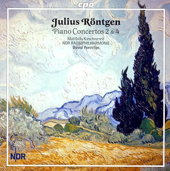 16 cpo; Röntgen, Piano Conc. 2 & 4