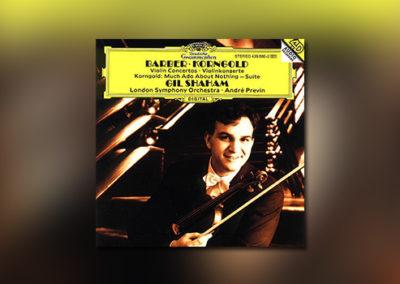 Barber • Korngold – Violinkonzerte