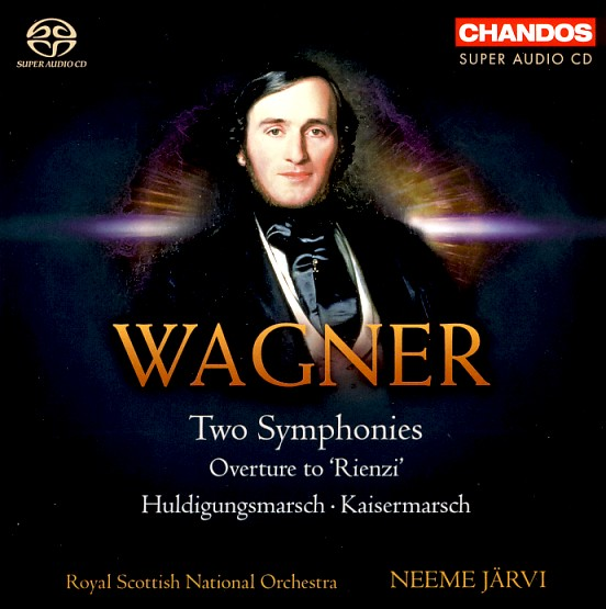 17 CHANDOS; Wagner-Järvi, Two Symphonies