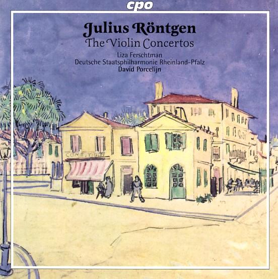 17 cpo; Röntgen, Violin Concertos