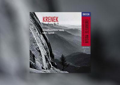 Krenek: Symphony No. 2 (Decca)