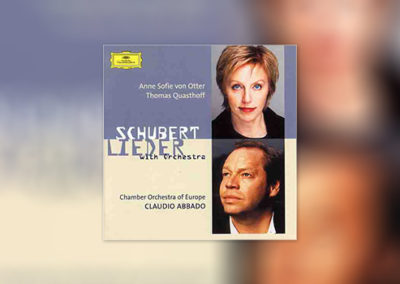Schubert: Schubert Lieder with Orchestra
