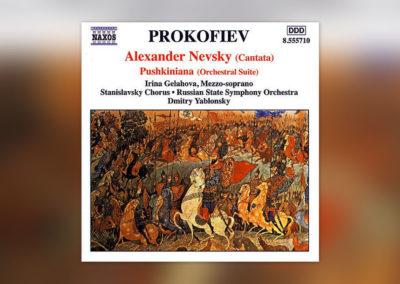 Prokofjew: A. Newski (Kantate)/Pushkiniana