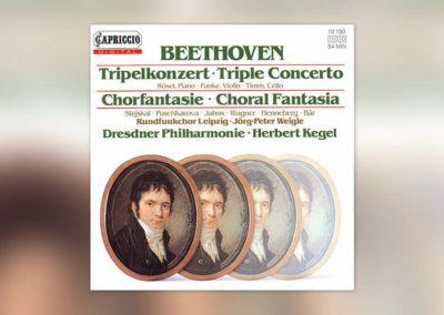 Beethoven: Tripelkonzert/Chorfantasie (H. Kegel)