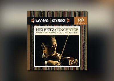 Heifetz Concertos