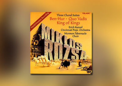 Three Choral Suites by Miklós Rózsa