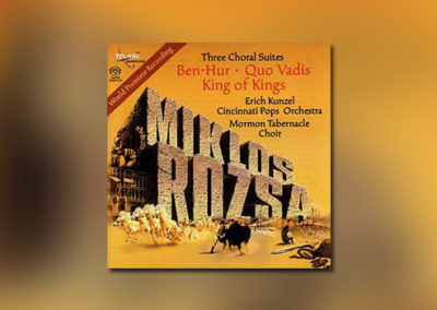 Three Choral Suites by Miklós Rózsa (SACD)
