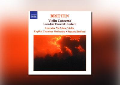 Benjamin Britten – Violin Concerto