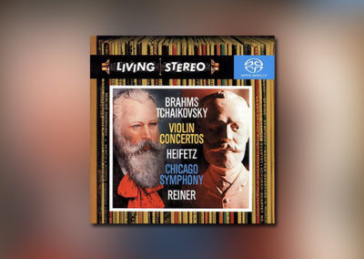 Violinkonzerte – Tchaikovsky/Brahms