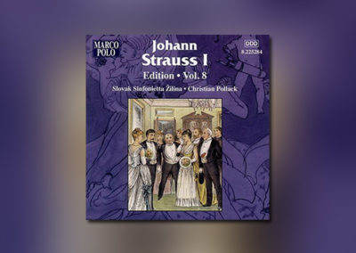 Johann Strauss I – Edition, Vol. 8