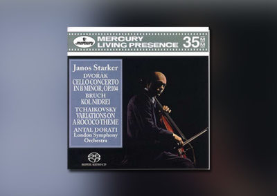 Dvořák, Bruch, Tschaikowsky – Werke für Cello und Orchester