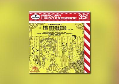 P. Tschaikowsky – The Nutkracker/Serenade f. Strings