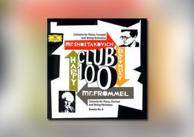 Club 100: Konzerte von Schostakowitsch und Frommel