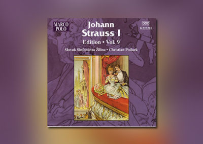 Johann Strauss I – Edition, Vol. 9
