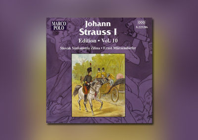 Johann Strauss I – Edition, Vol. 10