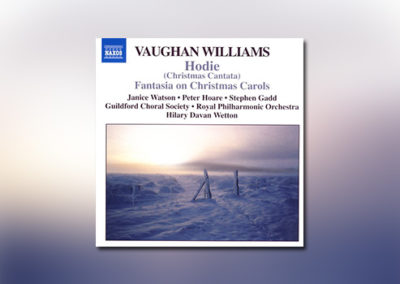 Vaughan Williams: Hodie (Christmas Cantata)
