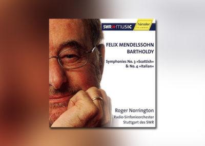 Mendelssohn Bartholdy: Sinfonien 3 & 4
