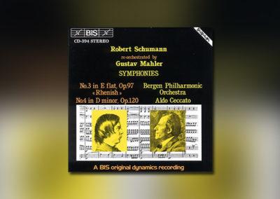 Schumann: Sinfonien 3 & 4 (Mahler-Orchestration)
