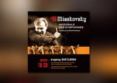 Mjaskowski: Sämtliche Sinfonien • Orchesterwerke