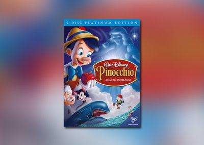 Pinocchio (Platinum Edition, DVD)
