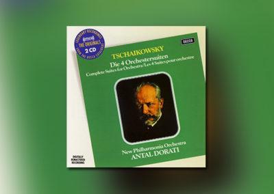 Tschaikowsky: Vier Orchestersuiten