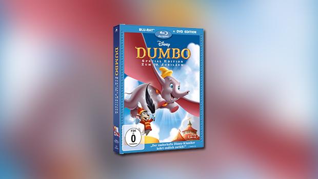 Dumbo (70. Jubiläum, Blu-ray & DVD)