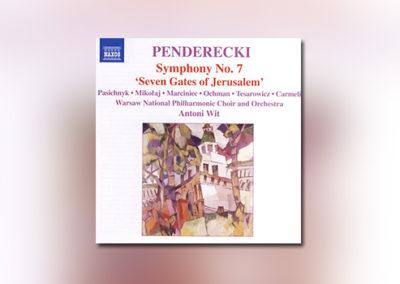 Krzysztof Penderecki: Symphony No. 7 (NAXOS)