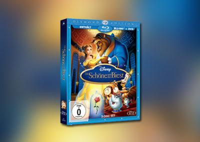 Die Schöne und das Biest (Diamond-Edition, Blu-ray)