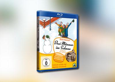 Drei Männer im Schnee (Blu-ray)