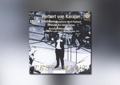Herbert von Karajan conducts (Beethoven/Strauss)