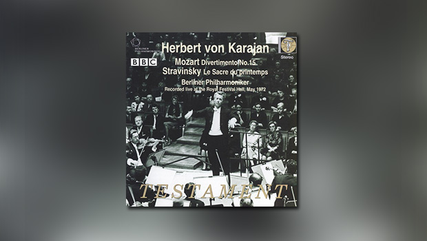 Herbert von Karajan conducts (Mozart/Strawinsky)
