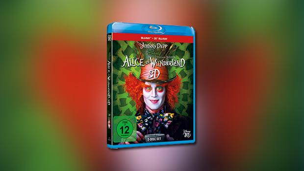 Tim Burtons Alice im Wunderland 3D (Platinum-Edition, 3D-Blu-ray)