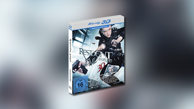 Resident Evil – Afterlife (Premium-Edition, 3D-Blu-ray)
