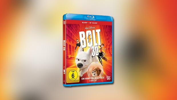 Bolt – Ein Hund für alle Fälle (3D-Blu-ray)