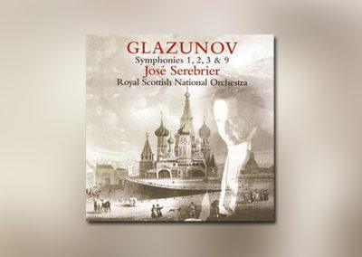 Glasunow: Sinfonien Nr. 1, 2, 3 & 9