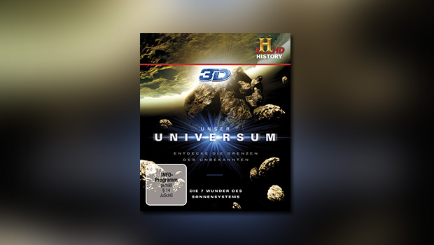 Unser Universum 3D – Die 7 Wunder des Sonnensystems (3D-Blu-ray)