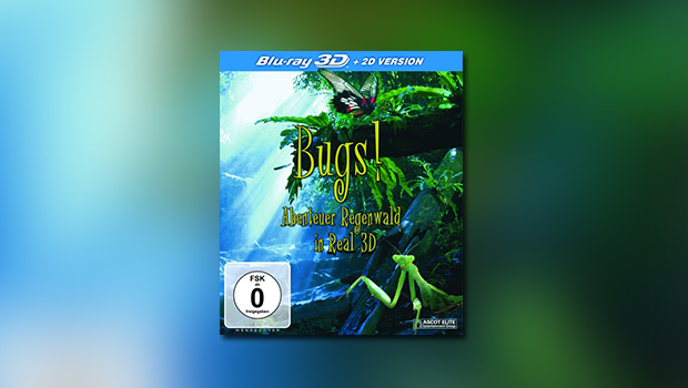 Bugs! Abenteuer Regenwald in Real 3D (3D-Blu-ray)