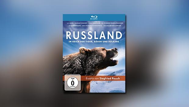 Russland – Im Reich der Tiger, Bären und Vulkane (Blu-ray)