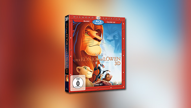 Der König der Löwen (3D-Blu-ray)